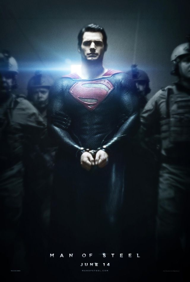 Man of Steel, New Poster & Trailer Released For Superman Film