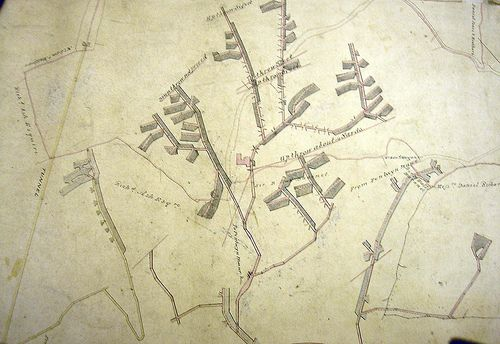 sirhowy valley - Old map