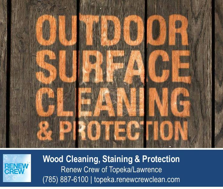 http://topeka.renewcrewclean.com – No this isn't a Photoshop picture. It's a real life example of Renew Crew of Topeka/Lawrence wood cleaning process. No matter how old the wood is or how much time it has spent outside, we can bring back the luster of new wood. We serve Topeka plus Lawrence KS. Free estimates.