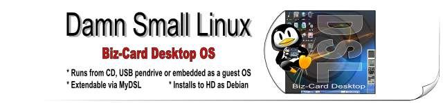 Damn Small Linux is a very versatile 50MB mini desktop oriented Linux distribution.