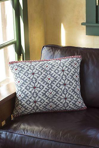 Ravelry: Snorri Cushion pattern by Lucinda Guy