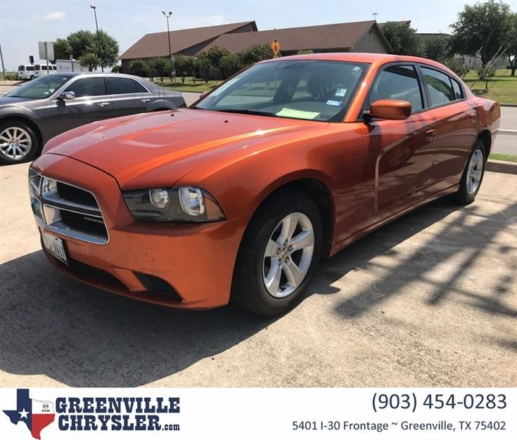 Memorial Day Special! Saturday ONLY! Mango Tango Pearl 2011 Dodge Charger with only 98,000 miles for $11,991!!! Text 903-225-2120 for more information!!! #CoolCar #Orange #MuscleCar #Charger  https://deliverymaxx.com/DealerReviews.aspx?DealerCode=J122  #Orange #musclecar #charger #GreenvilleTexas #Texas #GreenvilleChryslerJeepDodgeRam