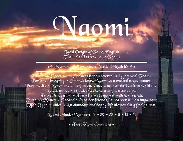 76 Best Naomi Images On Pinterest
