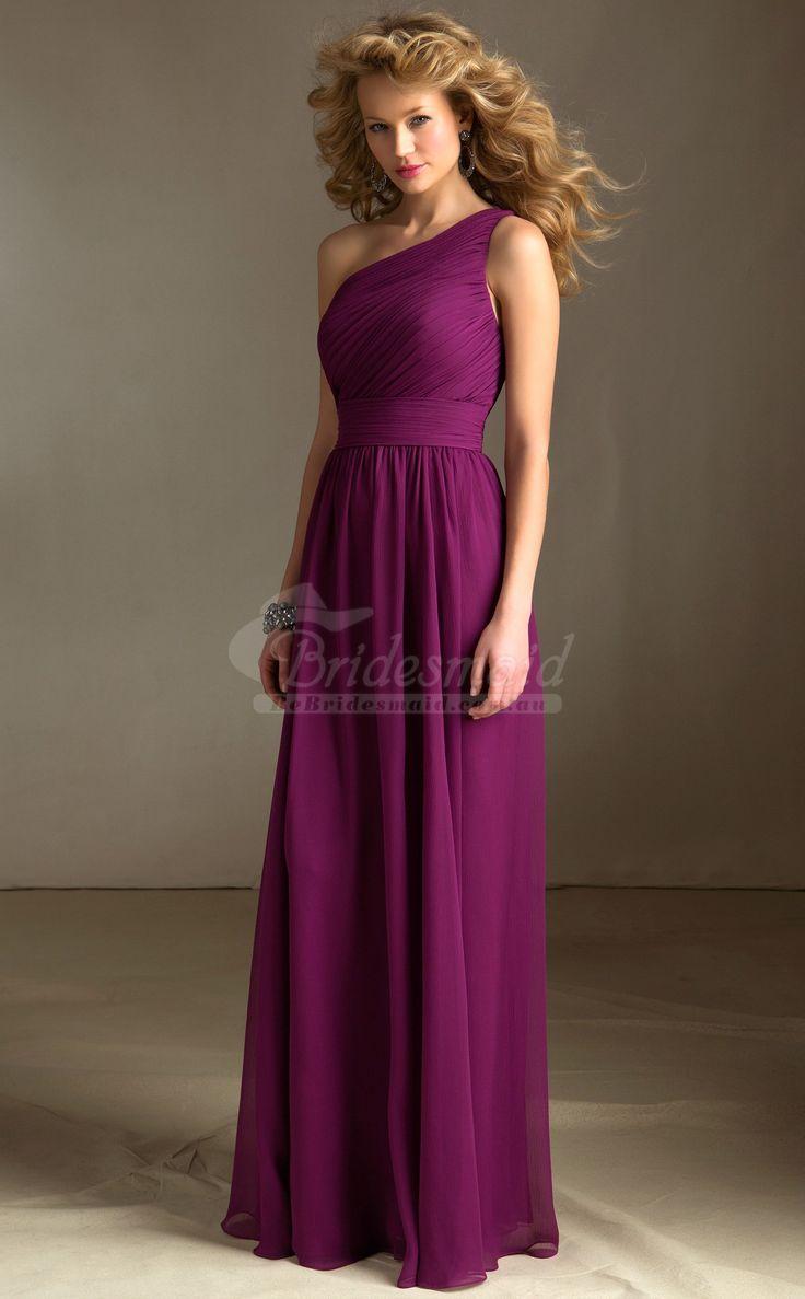50 best purple bridesmaid dresses images on pinterest purple a line sleeveless bridesdmaid dresses in chiffonpurple bridesmaid dresses ombrellifo Images
