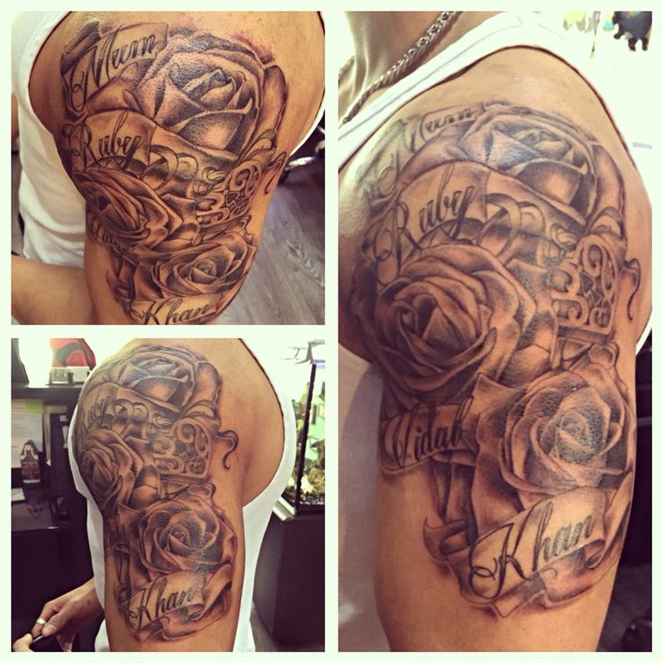 Customers first tattoo... Already thinking about what he wants next  once you start you can't stop  #rose #roses #rosetattoo #family #love #familytattoo #locket #oldschool #tattoo #tattoos #boyswithink #boyswithtattoos #ink #inked #tattooartist #script #tattooscript #aggysink #londontattoos #northlondon #needmoreink #aggysinktattoostudio