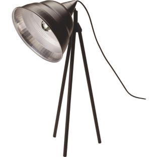 Buy Habitat Photographic Lampshade Tripod Desk Legs - Black at Argos.co.uk - Your Online Shop for Table lamps.