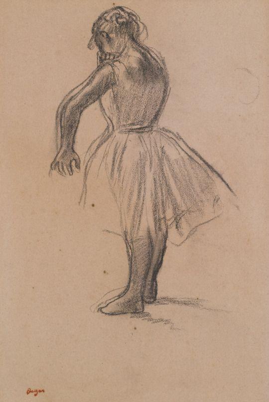 Danseuse debout (1880) - Edgar Degas