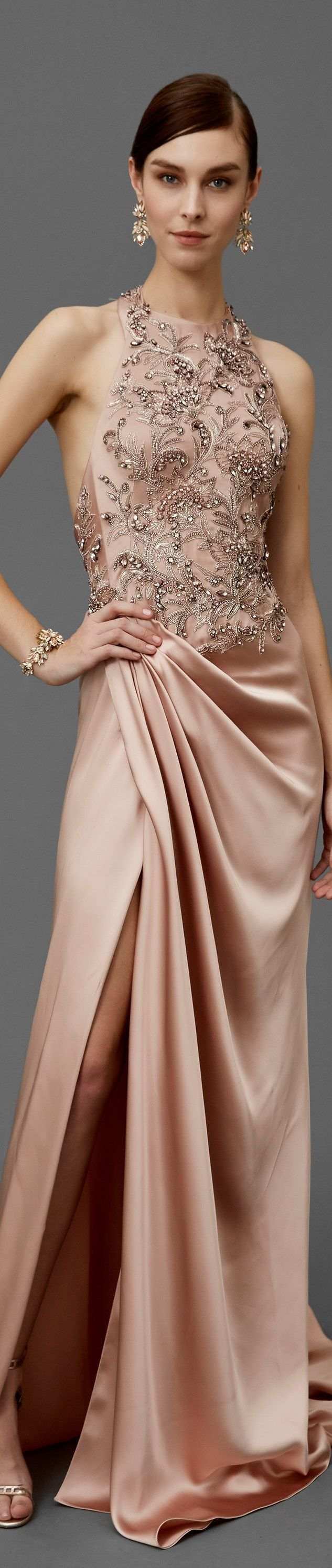Marchesa Pre Fall 2016 ❤                                                                                                                                                                                 More