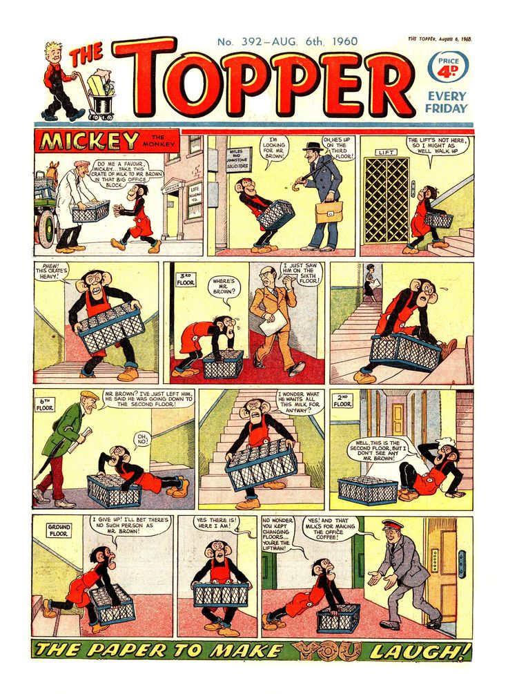 The Topper No. 392 - 6th August 1960