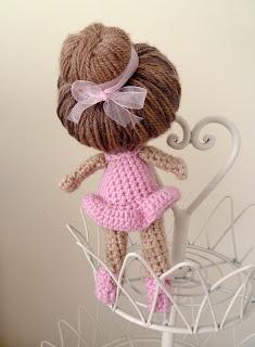 Me, Myself and My Creations...: Crochet Ballerina