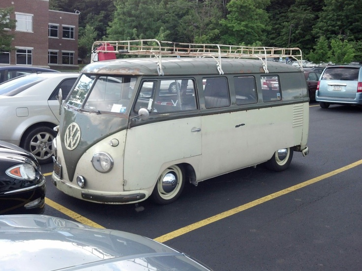 1957 VW Bus | Rides | Pinterest | Vw bus and Buses
