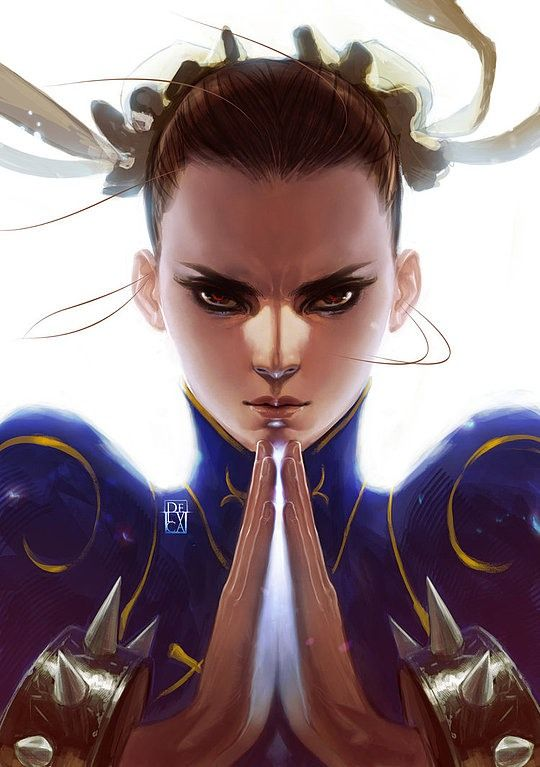 Chun-Li - Street Fighter - Antonio de Luca