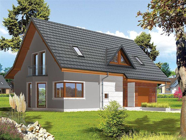 Projekt domu Demi G1 (wersja B)