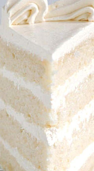 Samtig weicher weißer Kuchen   – Dessert Recipes