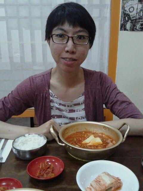 Dinner in Fusion Korean Food