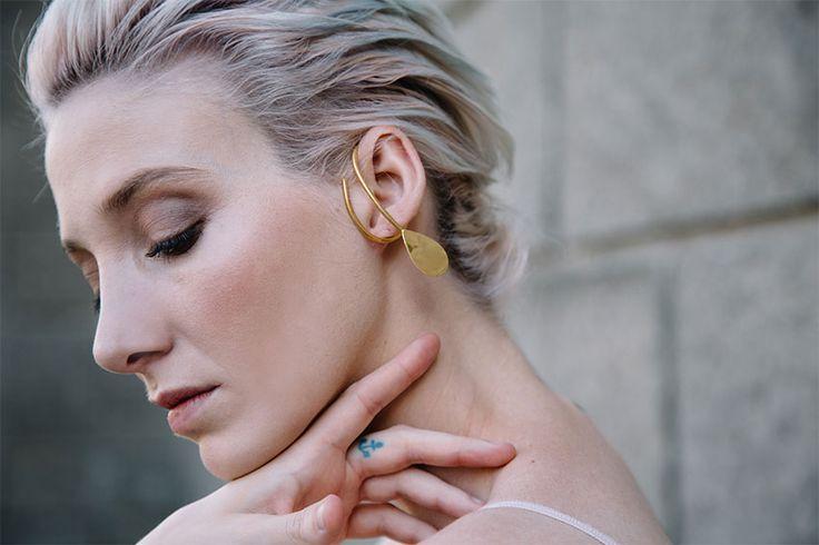 petal ear cuff #rivajewels #earcuffandmore #lowercollection