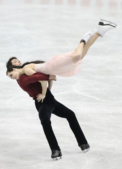 Tessa Virtue and Scott Moir of Canada #GPF13 #FigureSkating