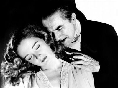 Bela Lugosi in The Return of the Vampire, 1944. From Karen's files.