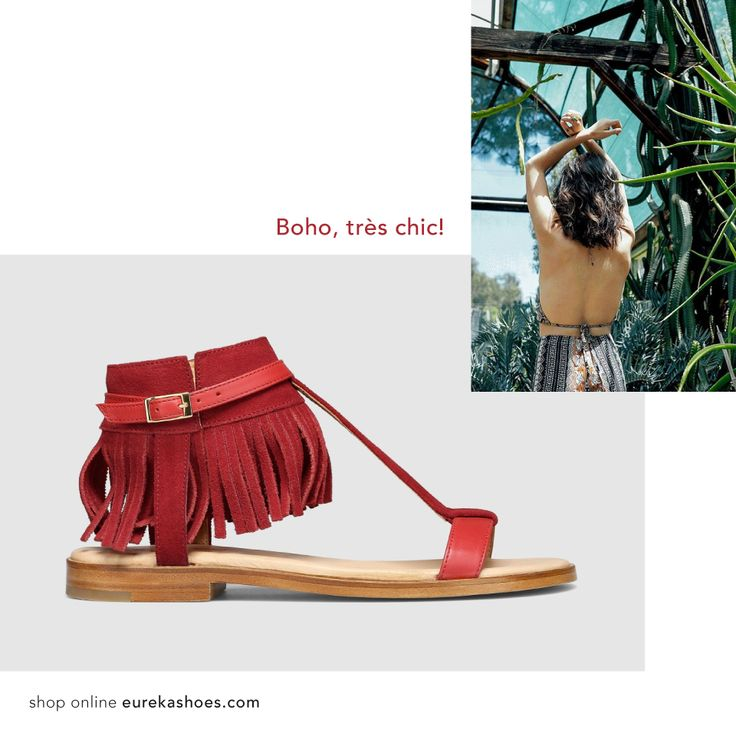 Hippie chic style! #eurekashoes #eurekalover #ss16 #blended #inspiration