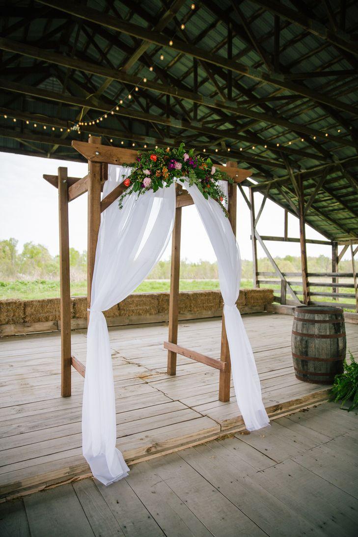 Diy decorate wedding arch-5259