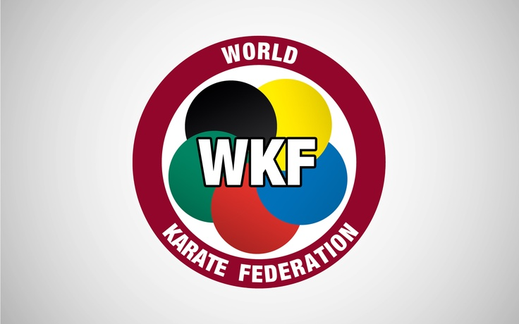 "Official Logo WKF ""World Karate Federation"""