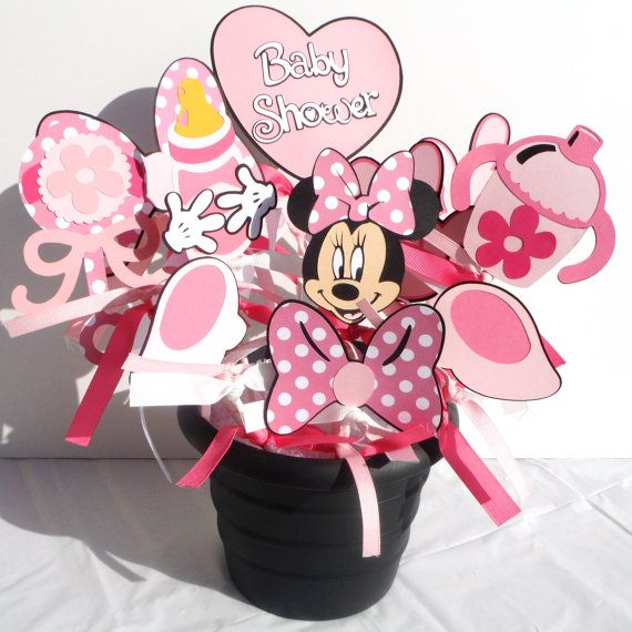 Minnie Mouse Baby Shower Party Favors: 1000+ Images About Minnie Mouse Baby Shower Theme On