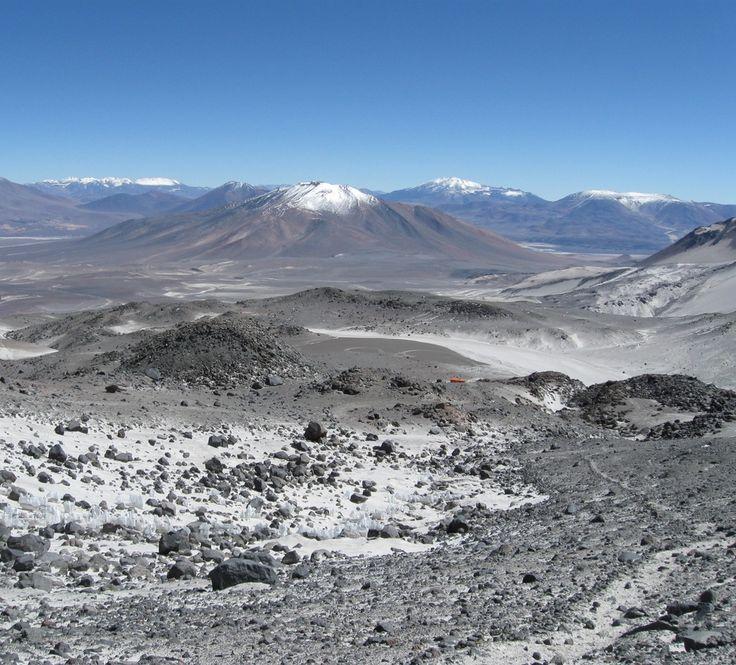Volcan Ojos del Salado. Catamarca. Argentina