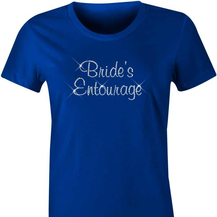 Bride's Entourage Diamante TShirt / Singlet