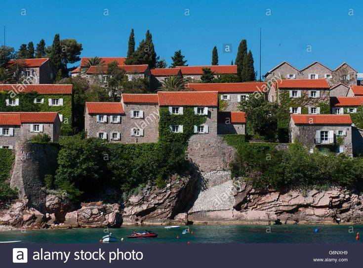 #SvetiStefan Island luxury resort in Montenegro #lifestyle #travel