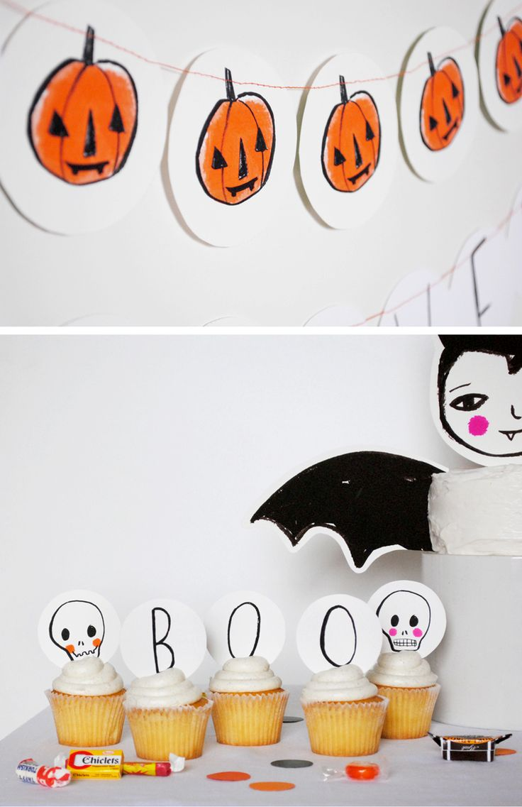 Mer Mag: New in the Shop: Printable Halloween Party Pack!