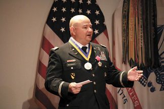 It doesn't matter whether he's in uniform or not, Chief Warrant Officer 5 Donald Washabaugh has dedicated himself to serving Soldiers and the nation.