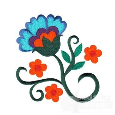 Jacobean Floral Designs - I am obsessed with Jacobean embroidery designs.