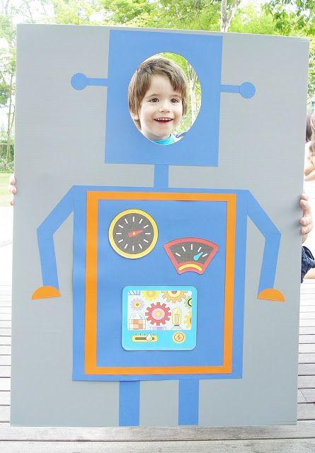 Etincelle Creative STUDIO: A Fantastic Robot Birthday Party {Part II}