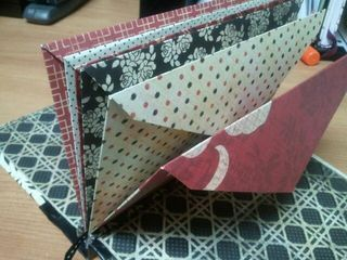 handmade envelope book