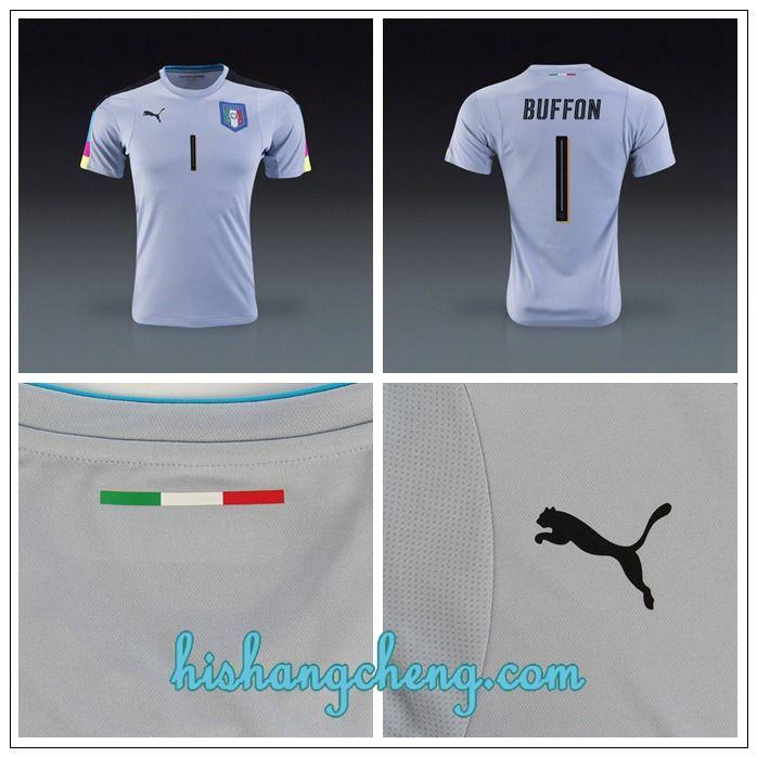 Ensemble Buffon Italie maillot gardien de but 2016 2017 domicile moins cher