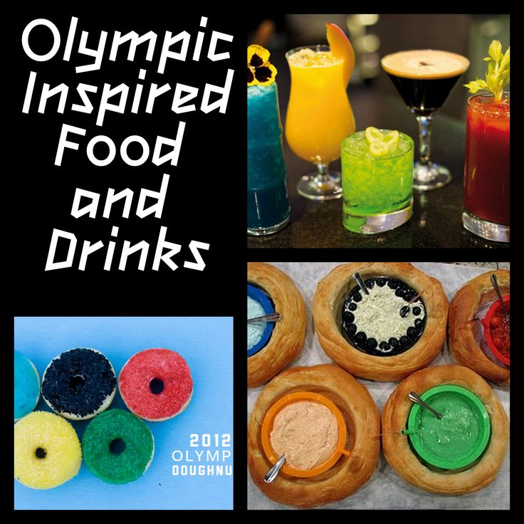 Olympic games food and drink ideas party ideas pinterest for Party food and drink ideas