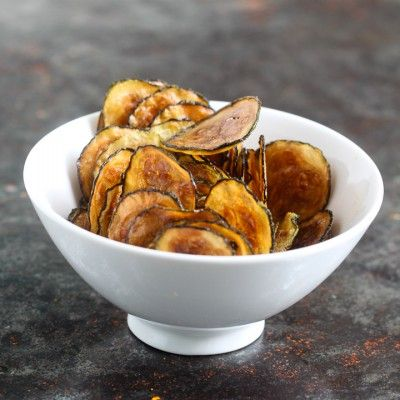 zucchini chips - apparently big in the 20s. Good to dip in Rao's Marinara. (Whole 30 approved!)
