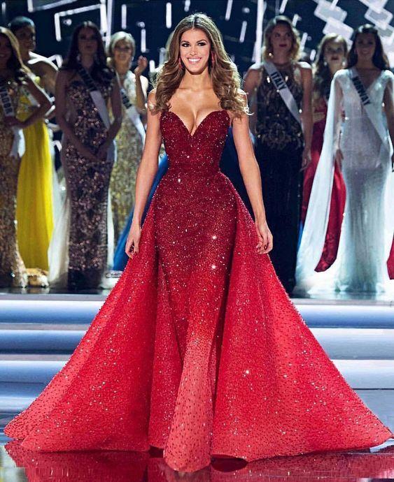 383cae0be3 robes soirée rouge tendance 2018