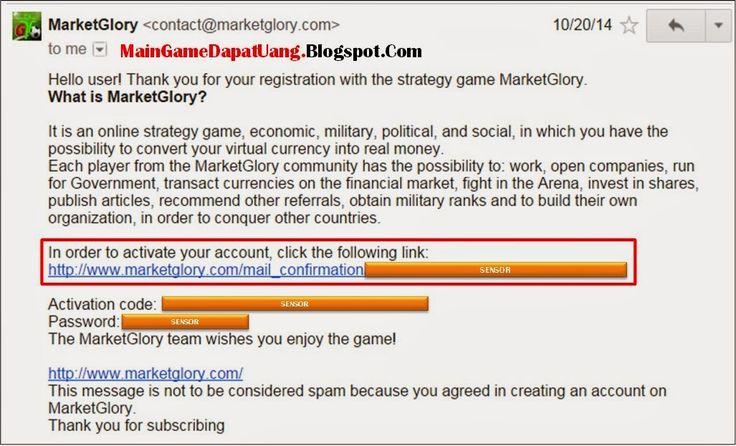 Cara Daftar MarketGlory