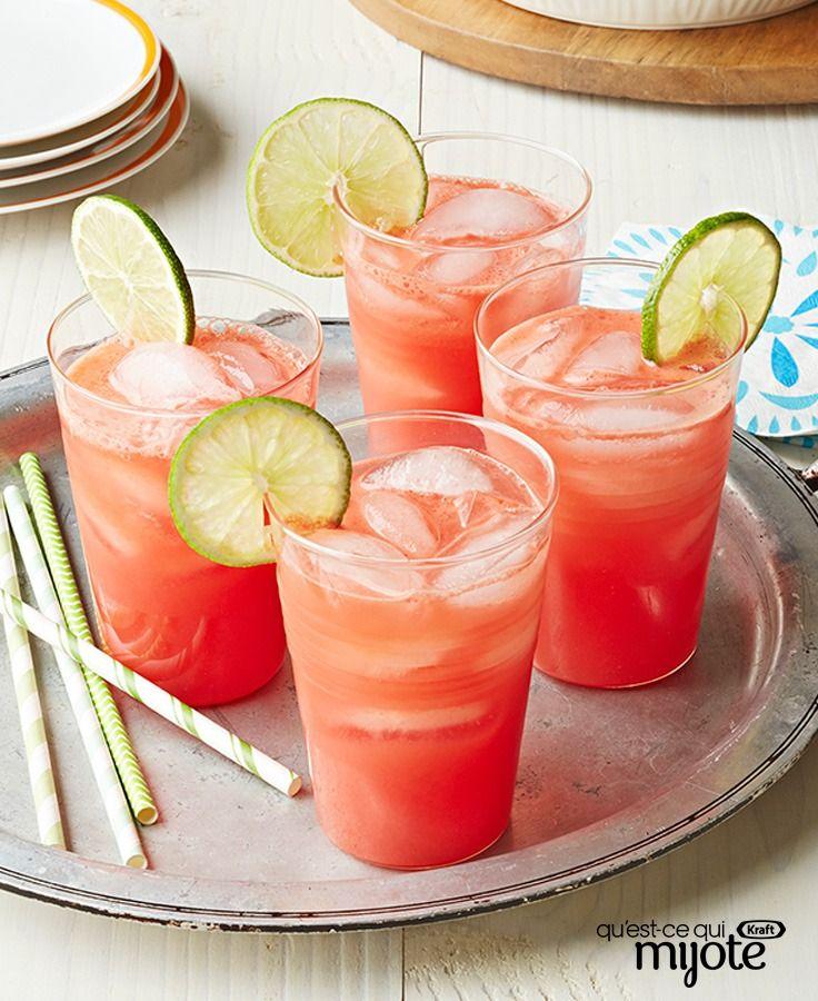 Aqua fresca au melon d'eau #recette