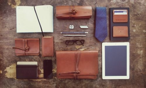 Small leather goods by Ideal & Co