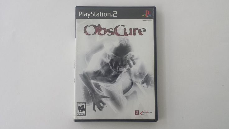 Obscure (Sony PlayStation 2 / PS2, 2005) COMPLETE - CIB - VERY RARE GAME!: $75.08 (0 Bids) End Date: Sunday Aug-13-2017 18:48:27 PDT Bid…