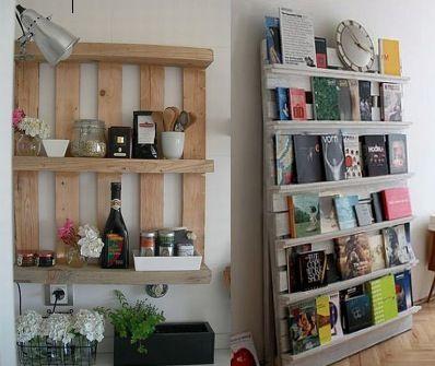 25 beste idee n over pallet decoraties alleen op pinterest - Maken van zijn boekenkast ...