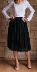 Spódnica tiulowa CZARNA z koła MIDI spódniczka baletnicy baleriny baletowa spódnica tiulowa na weselę, tulle skirt ballerine skirt, tulle skirt buy online wedding, outfit pinterest asos