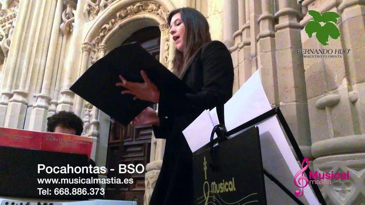 Pocahontas  MUSICA BODAS CARTAGENA LA MANGA CABO DE PALOS