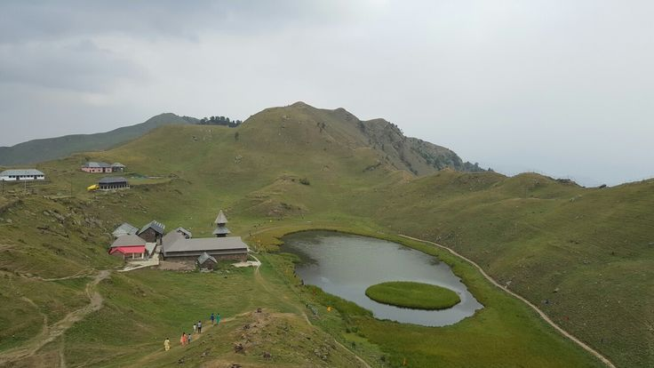 Parashar Lake, First view
