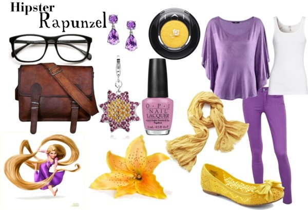 Hipster Rapunzel, created by grace-ellen-jennings on Polyvore