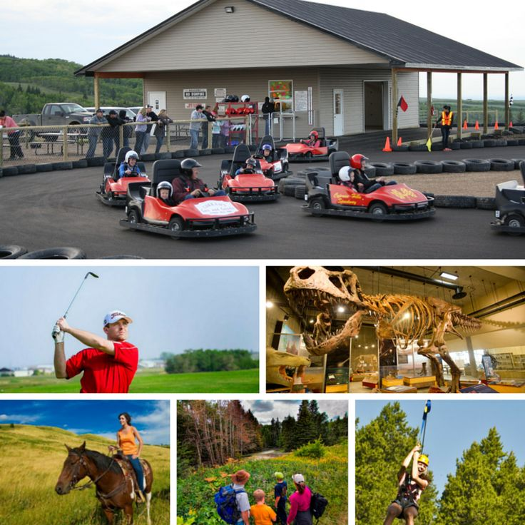 There are a host of activities to do as a group in the Cypress Hills