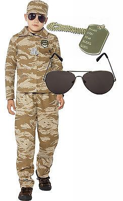 #Desert army boys #soldier action man fancy dress #costume outfit aviators dog ta,  View more on the LINK: http://www.zeppy.io/product/gb/2/331727232504/