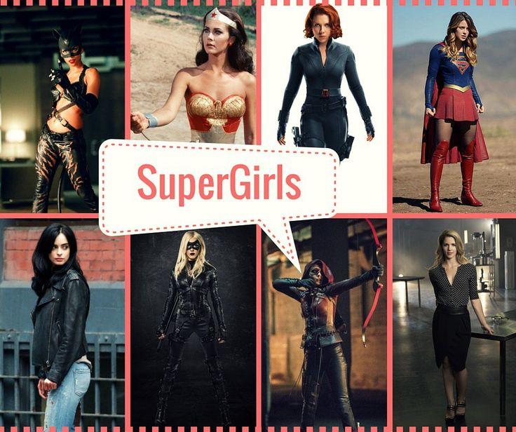 Les super héros au féminin